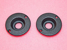 "2 x CLIFF UK Genuine 1/4"" 6.35mm Jack Socket Surround Recess Plates Cup Marshall"