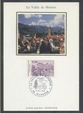 FRANCE FDC - 2707 5 LA VALLEE DE MUNSTER - 6 Juillet 1991 - LUXE sur soie