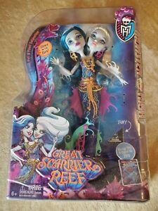 Monster High Great Scarrier Reef Peri & Pearl Serpintine Hissters Doll 2015 NIB