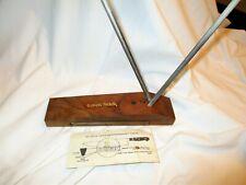 Vtg Crock Stick 2 Rod Ceramic Knife Scissor Sharpener Hone Instructions