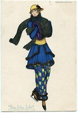 ART DECO a/s MELA KOEHLER HIGH FASHION LADY HAT DERNIER CHIC. B.K.W.1.271--4