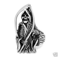 【Ship from USA】Sons of Anarchy Gothic Rocker Biker Stainless Steel Ring Size 11