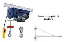 PARANCO BT-EH 250 ARGANO ELETTRICO 250KG 18MT EINHELL CON BANDIERA