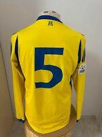 Maglia Hellas Verona 2009 10 Nr 5 match worn shirt jersey vintage camiseta