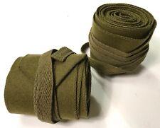 WWI US M1910 INFANTRY WOOLEN CUT PUTTEES LEGGINGS WRAPS-XLONG