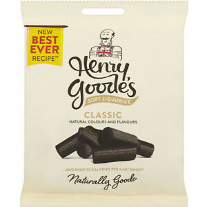 Henry Goodes Soft Eating Liquorice sweets priced marked £1