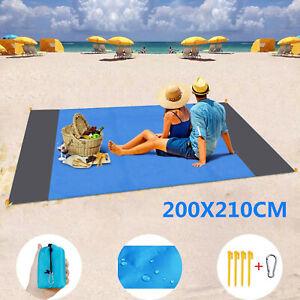 Portable Lightweight Mat Outdoor Picnic Mat Sand Beach Mat Anti Sand Blanket