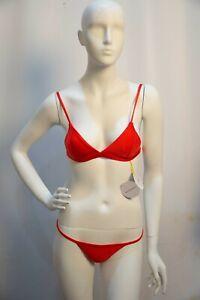 Frankie by Rebecca Bikini Red Size 6