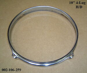 "10"" 4-Lug H/D Triple Flanged Hoop / Ring / Rim for Tom Toms, Drums ***B-GRADE***"