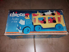 "Rare vintage chicco ""scatta a vai"" vehicle!!"