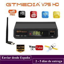 Gtmedia V7S+USB Wifi DVB-S2 Satellite Receiver Full HD 1080P Support Bisskey