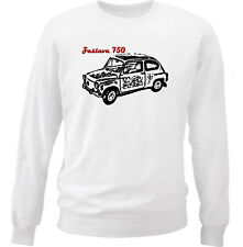 ZASTAVA 750 - COTTON WHITE SWEATSHIRT ALL SIZES IN STOCK