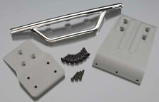 RPM Traxxas Slash 4x4 Front Bumper & Skid Plate (Chrome) RPM80023