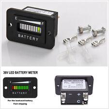 Universal 36 V 10 Volt Batteria Indicatore Metro Misuratore Ezgo CLUB CAR YAMAHA Golf Carrello