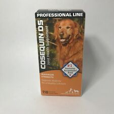 COSEQUIN DS MAX STRENGTH JOINT HEALTH SUPPLEMENT ALL DOGS  110 TABLETS # 7419