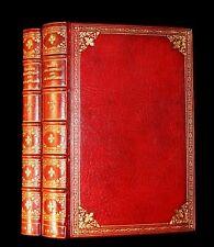 1884 Rare -  De La Fontaine Tales Book set beautifully bound by Sangorski.