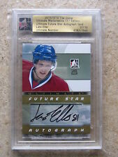 11-12 ITG Ultimate Memorabilia LARS ELLER Future Star Auto Gold Version /10