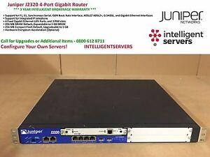 Juniper J2320 4-Port Gigabit Router