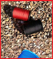 Flechtleine 3mm rot neonrot 100m Rolle, Tauwerk, PP, Reepschnur, Bruchlast 150kg