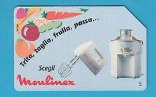 SCHEDA TELEFONICA USATA GOLDEN N. 385 MOULINEX Valore L 5.000 Scad. 30 - 06 - 96