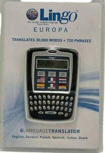 Language Translator Lingo Europa English German French Spanish Italian Dutch D8