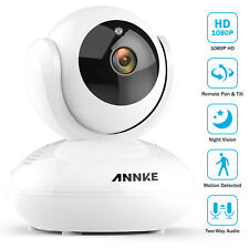 Refurbished ANNKE Full 1080P Wireless Security IP Camera Night Vision Smart WIFI