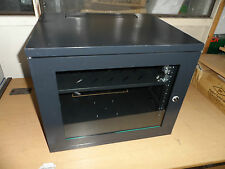 "LMS DATA  CAB-W9U-EL450  CABINET, DEEP WALL, 19"", 9U, 450MM  (J3223 MZR)"