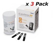 CareSence N Blood Glucose Meter Test Strip/ 3 Box of 50T Made in KOREA