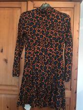 Topshop leopard animal print dress Size 10