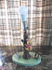 Vintage Mid Century 1968 Winnie the Pooh Lamp from The Dolly Toy Company in Ohio