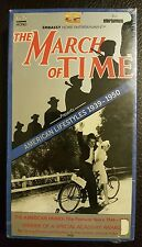 (1728) The March of Time - American Lifestyles 1939-1950 - Pt. 4 (VHS, 1991) NEW