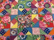 Telas y tejidos florales, patchwork