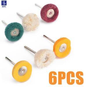 Polishing Cotton Polish Buffing Wheel Grinding Head Cloth Dremel Grinder Brush