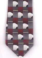 Dancing Bear Grateful Dead 100% Silk Tie Necktie