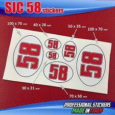 Set n.6 adesivi SIC 58 Simoncelli SIC4