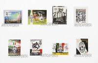 Sellos Juventus dal 2012 al 2015 Italia y San Marino Colección completo