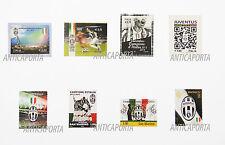 Francobolli Juventus dal 2012 al 2015 Italia e San Marino Collezione completa