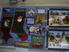 New!  Arctic Holiday Panel by Debbie Mumm for SSI, 100% Cotton