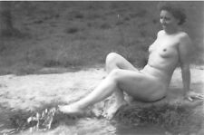Large (4 x 6 inches) Reproduction Nude RP- German WWII Era Art Photo 3- 30s-40s