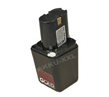 Akku f. Bosch GSR 9,6 / 2607335002 / 9,6V 2000mAH NIMH