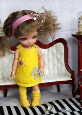 Yellow or Violet dress tiny bjd doll Lati Yellow Aquariusdoll Pukifee Irrealdoll