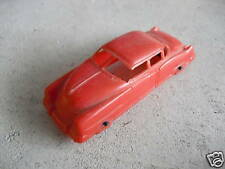 Vintage 1950s Plastic Red Classic Car  LOOK