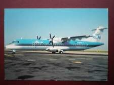 POSTCARD AIR KLM UK ATR 72-200 AEROPLANE