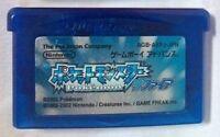 USED Gameboy Advance GBA Pokemon Sapphire Soft JAPAN