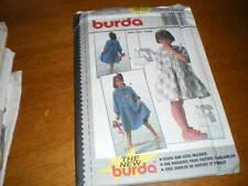 new burda 6-11 girls dress 3820