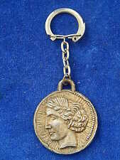 PORTE-CLES ANCIEN / Old key ring - VIERGE / Virgin - BERGERE DE FRANCE