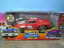 1/24 MUSCLE MACHINES 1969 CHEVY CAMARO # 8 EARNHARDT JR