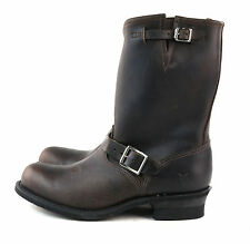 "FRYE Women's Engineer 12""R Boot Gau Gaucho Brown Antique Leather Size 11 M US"