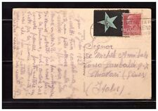 s23457) ESPERANTO FRANCE 1926 PC Int. Fair Lyon to Chiavari (IT)