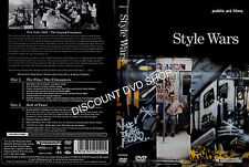 Style Wars (DVD, 2007) New double Disc set